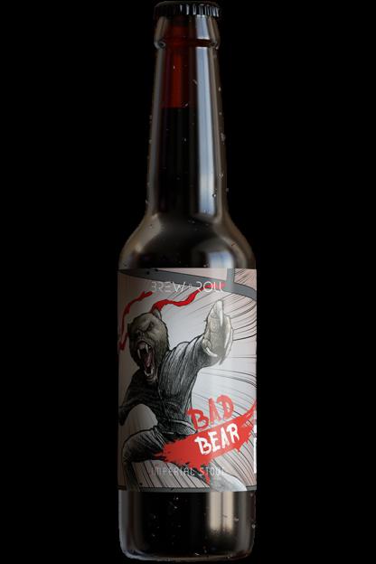 Bad Bear botella